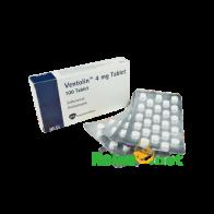 Buy Ventolin 4 mg (Salbutamol)