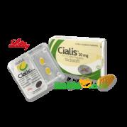 Lilly Cialis (Tadalafil) 4 Tablets