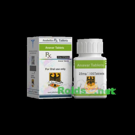 Odin Anabolics Anavar 25 mg (USA DOMESTIC)