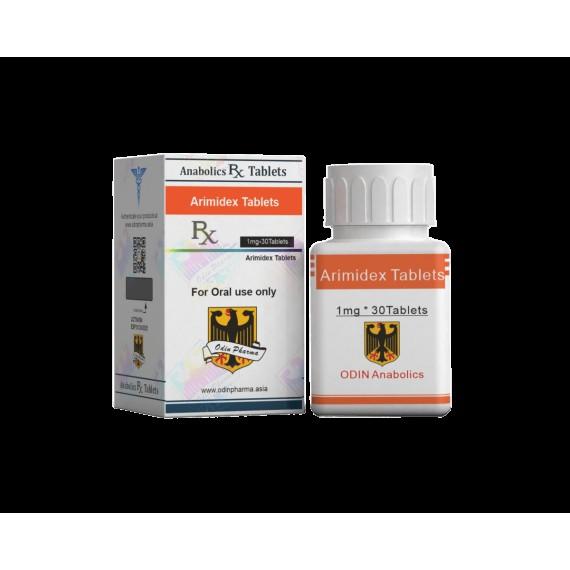Odin Anabolics Arimidex 1 mg. (USA DOMESTIC)